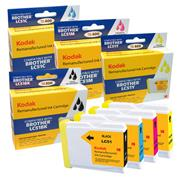 Kodak Brand Ink Cartridge Compatible With Brother LC-51 (Combo Pack - B/C/M/Y) THUMBNAIL