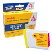 Kodak Brand Ink Cartridge Compatible With Brother LC51M (Magenta) THUMBNAIL