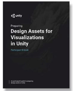 Preparing Design Assets for Visualizations in Unity - Instructor Materials LARGE
