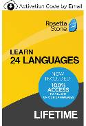 Rosetta Stone: Learn 24 Languages - Lifetime Access (PC/Mac Online Code) THUMBNAIL
