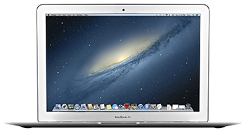 "Apple MacBook Air MD760LL/B 13.3"" Laptop 1.4MHz/128GB Core i5 (Refurbished) with MS Office 2016 LARGE"