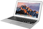 "Apple MacBook Air MJVM2LL 11.6"" Laptop 1.6MHz/128GB Storage (2015 Refurbished) with MS Office THUMBNAIL"