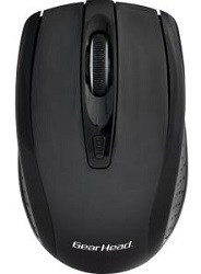 Gear Head MPT3400YLW-CP10 Yellow Optical Wireless Mouse from ThinkEDU