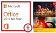 Microsoft Office 2016 with Adobe Photoshop/Premiere Elements 15 (Mac)