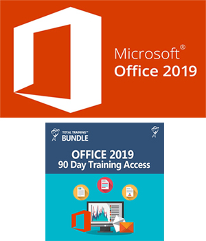 Microsoft Office 2019 with Office Training (Win or Mac) - ON SALE LARGE