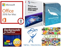 Microsoft Office 2016 Essentials Bundle for Mac (WAH Download) - ON SALE! LARGE