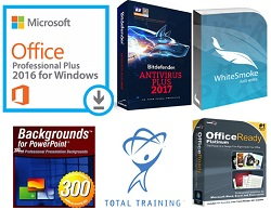 Microsoft Office 2016 Essentials Bundle for Windows (WAH Download)