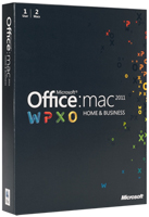 Microsoft Office for Mac 2011 for Students - MAC (DOWNLOAD