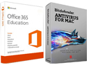 AntiVirus 2016 with FREE Microsoft Office 365 Education (MAC) THUMBNAIL