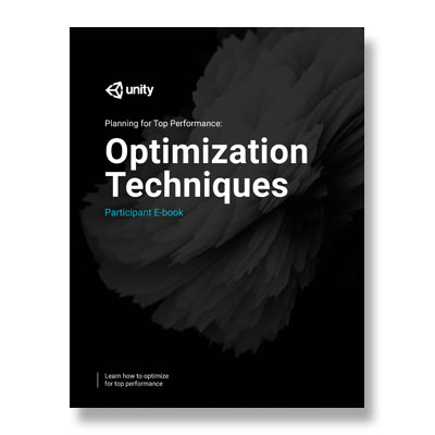 Planning for Top Performance: Optimization Techniques Instructor Materials THUMBNAIL