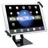 CTA Digital Adjustable Anti-Theft Security Grip and Stand for iPad Pro & Large Tablets