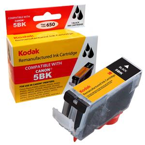 Kodak Brand Ink Cartridge Compatible With Canon PGI-5BK (Pigment Black) LARGE