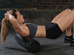 "Sportline 36"" High Density Foam Roller"