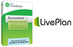 Intuit QuickBooks Accountant 2015 (Download) & PaloAlto LivePlan (12 Month Sub)