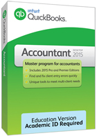 Intuit QuickBooks Accountant 2015 for Windows (Download).