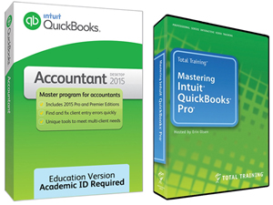 Intuit QuickBooks Accountant 2015 for Windows (Download) with QuickBooks Training Online (SALE!)