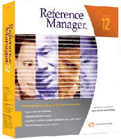 Thomson Reuters Reference Manager 12 Academic