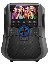 Supersonic SC-3077K Portable Wireless Bluetooth Karaoke Speaker