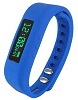 Supersonic SC-62SW PowerX-fit Fitness Wristband with Bluetooth (Blue)