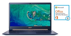 "Acer Swift 5 SF514 14"" Touchscreen Intel Core i5 8GB RAM Notebook PC with MS Office Pro 2016 LARGE"