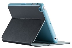 Speck StyleFolio Case for iPad Mini 2/3 (Charcoal Grey/Dream Blue) (While They Last!)