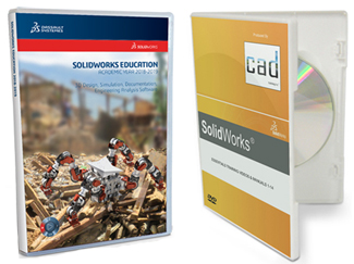 SolidWorks Student Edition 2018-2019 (Download) with SolidWorks Essentials Training Videos (DVD)_LARGE