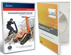 SolidWorks Student Edition 2015-2016 w/SolidWorks Essentials Training Videos & Manuals