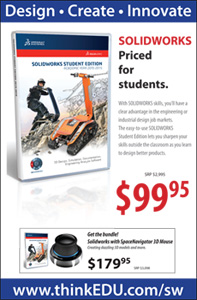 SolidWorks 2015-2016 Classroom Poster