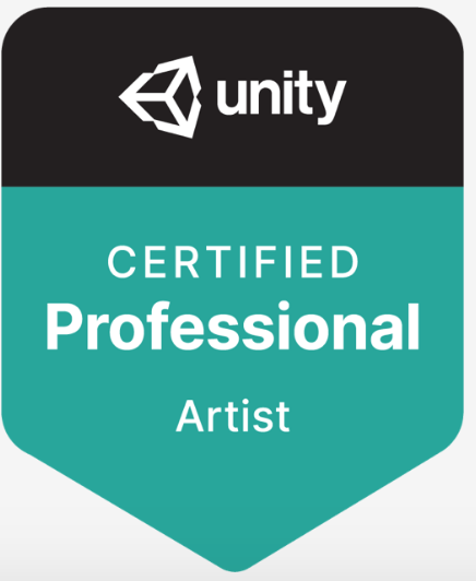 Unity Certified 3D Artist Courseware (12 Month Subscription) LARGE