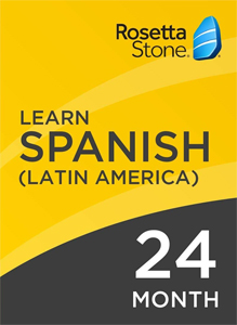 Rosetta Stone Spanish: 24 Month Subscription for Windows/Mac 1-2 Users, Download_LARGE