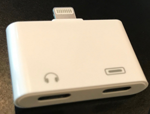 iPhone Splitter - Includes 2 Lightning Ports (Charge & Listen at the same time)