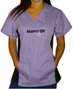 Happy Up Women's Sporty Scrub Top SWATCH