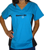 Happy Up Women's Sporty Scrub Top Mini-Thumbnail