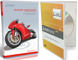 SolidWorks Student Edition 2014-2015 w/SolidWorks Essentials Training Videos & Manuals