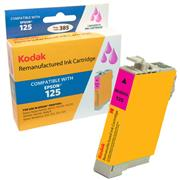 Kodak Brand Ink Cartridge Compatible With Epson 125 (Magenta) THUMBNAIL