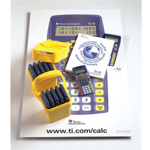 Texas Instruments TI-15 Explorer Financial Calculator Teacher's Kit