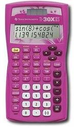 Texas Instruments TI-30X IIS Scientific Calculator (Pink)