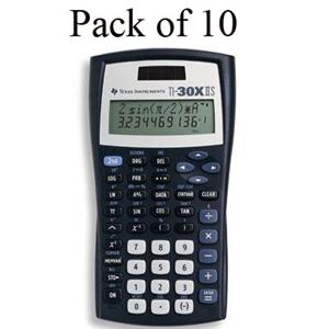 Texas Instruments TI-30X IIS Scientific Calculator Teacher's Kit_LARGE