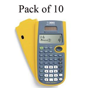 Texas Instruments TI-30XS Multi-View EZ Spot Calculator Teacher's Kit