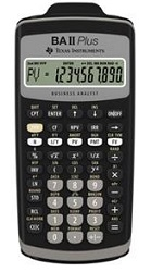 Texas Instruments BA-II Plus Financial Calculator