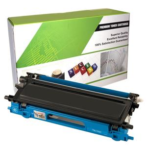 eReplacements Premium Toner Cartridge For Brother TN115C LARGE