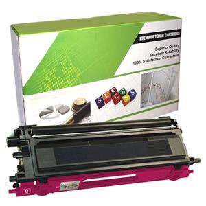 eReplacements Premium Toner Cartridge For Brother TN115M LARGE