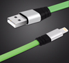 6-Foot Tangle-Free Flat Lightning Cable with USB Power Adapter Mini-Thumbnail