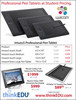 Graphics Tablets Flyer - PDF THUMBNAIL