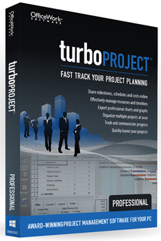 TurboProject Professional 7 - ON SALE! (Download) LARGE