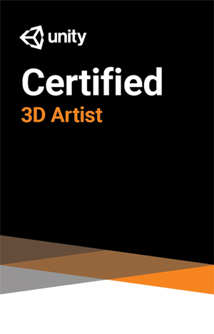 Unity Certified 3D Artist Exam LARGE
