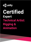 Unity Certified Expert: Technical Artist Rigging and Animation Exam THUMBNAIL