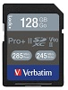 Verbatim Class 10 128GB Pro II Plus 1900X SDXC Memory Card