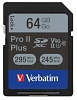 Verbatim Class 10 64GB Pro II Plus 1900X SDXC Memory Card
