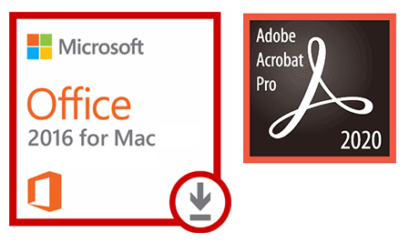 Microsoft Office 2016 for Mac with Adobe Acrobat Pro 2020 (MAC Download) LARGE